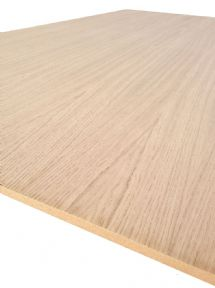 Oak Veneered MDF Crown Cut, Book Match - 2440 x 610 x 10mm